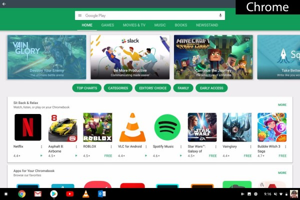 chrome   google play store