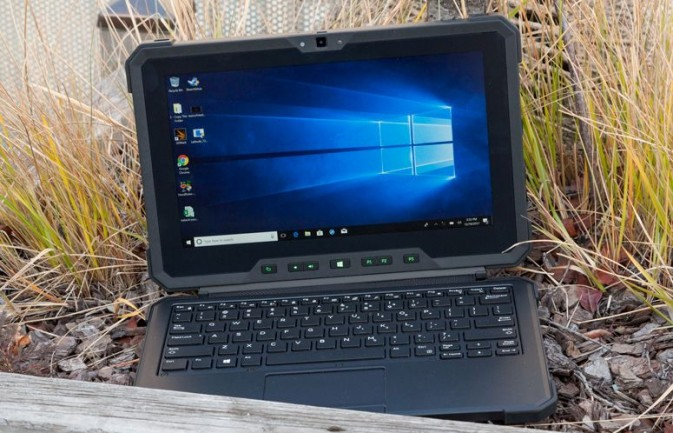 Best Rugged 2-in-1: Dell Latitude 7212